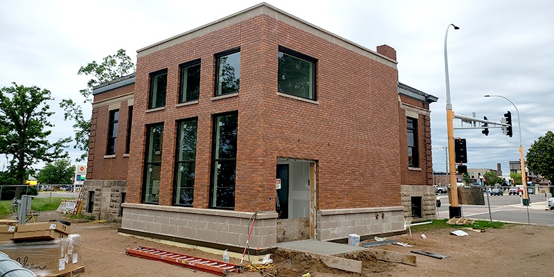 Carnegie Construction exterior